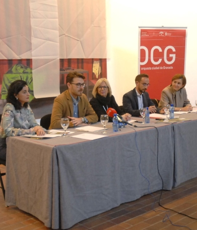©Ayto.Granada: El programa educativo de la OCG combina por vez primera conciertos educativos y visita al museo de la Alhambra