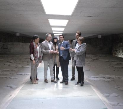 ©Ayto.Granada: Granada abre al público los restos arqueológicos del Albercón almohade de la estación de metro de Alcázar de Genil