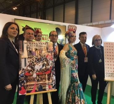©Ayto.Granada: Granada presenta en Fitur los carteles del Corpus y la Semana Santa