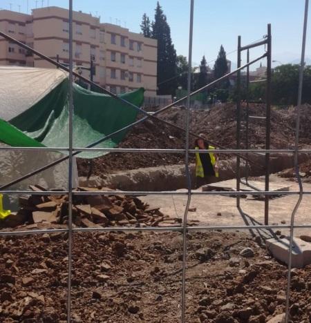 ©Ayto.Granada: El Ayuntamiento retoma con los fondos EDUSI los trabajos arqueológicos en el yacimiento romano de plaza Iliberis