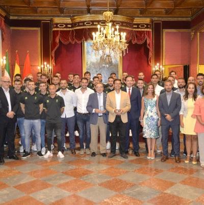 ©Ayto.Granada: El Ayuntamiento renueva su apoyo al Granada CF