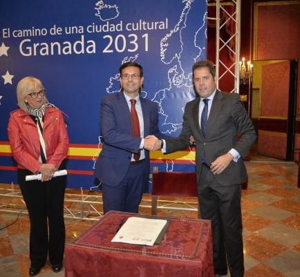 ©Ayto.Granada: El Ayuntamiento implica al empresariado granadino en el proyecto de la Capitalidad Cultural Europea 2031