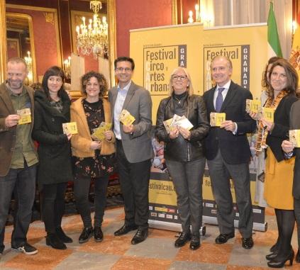 ©Ayto.Granada: El Ayuntamiento presenta el Festival de Circo y Artes Urbanas que animará las calles de Granada en el puente de diciembre