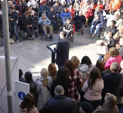 ©Ayto.Granada: Granada celebra el Día Internacional de las Personas con Discapacidad con una marcha solidaria