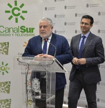 ©Ayto.Granada: Granada ha sido elegida por Canal Sur para retransmitir las campanadas de Fin de Año