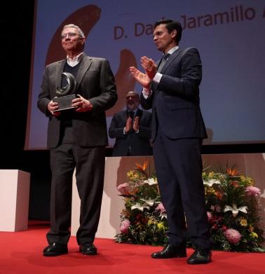 ©Ayto.Granada: Darío Jaramillo recibe el XV Premio Internacional de Poesía Federico García Lorca en la casa del poeta