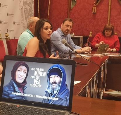 ©Ayto.Granada: Personas en situación de calle protagonizan una campaña para visibilizar el sinhogarismo en Granada