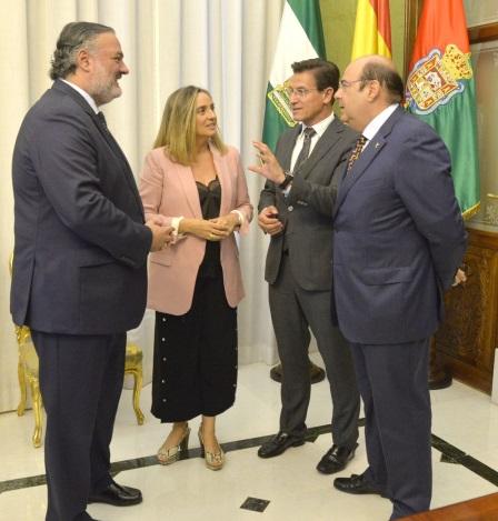 ©Ayto.Granada: Ayuntamiento de Granada y Junta de Andalucía crean sendos grupos de trabajo de Movilidad y Vivienda