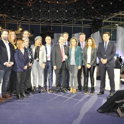 ©Ayto.Granada: El alcalde lleva a la Cumbre del Clima COP25 las propuestas de Granada, ciudad verde europea, para combatir el cambio climático