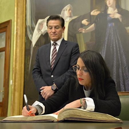 ©Ayto.Granada: El alcalde y la presidenta del Parlamento de Andalucía destacan la colaboración entre la Junta y el Ayuntamiento
