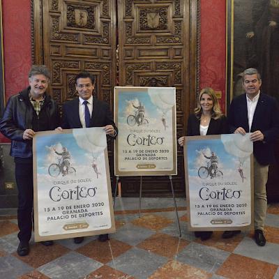 ©Ayto.Granada: EL CIRCO DEL SOL LLEGA AL PALACIO DE LOS DEPORTES