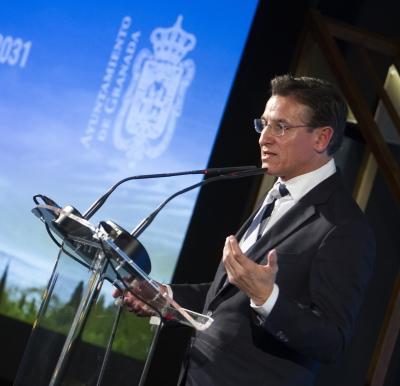 ©Ayto.Granada: Los nuevos grandes proyectos enmarcados en la candidatura a la Capitalidad Europea de la Cultura 2031 centran la Gala con la que Granada arranca su promoción en Fitur