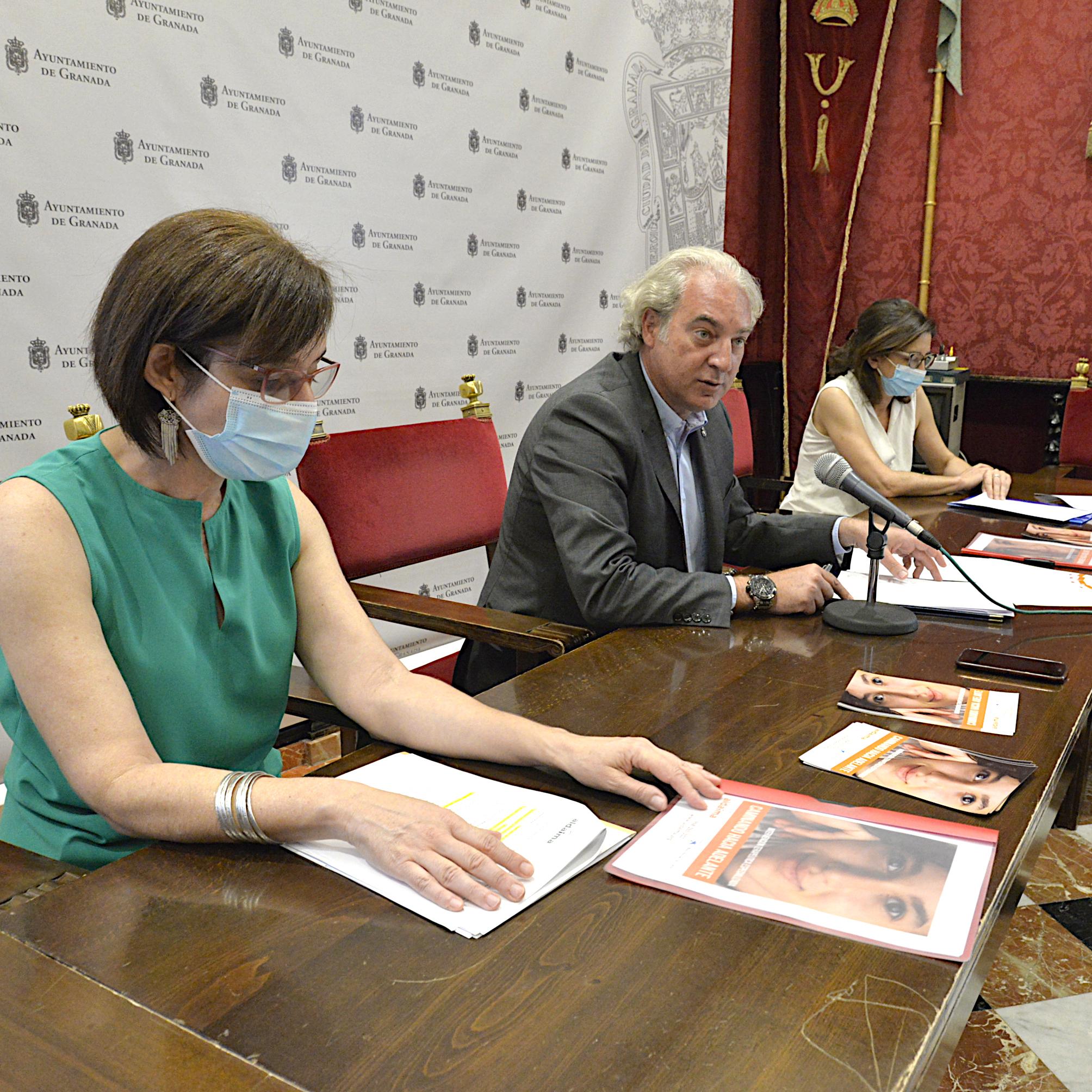 ©Ayto.Granada: Ayuntamiento y asociación Aldaima impulsan un programa terapéutico dirigido a menores dañados por experiencias traumáticas en el entorno familiar