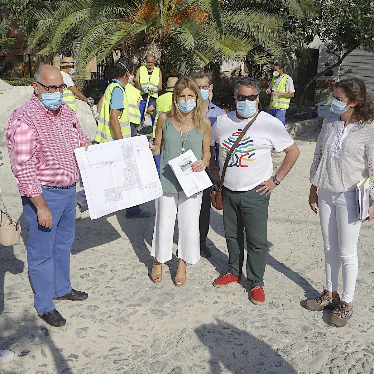 ©Ayto.Granada: Mantenimiento impulsará en los meses de verano obras de remodelación en distintas zonas de la ciudad por valor de 906.361 euros con cargo al Plan de Fomento del Empeo Agrario