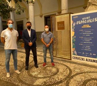©Ayto.Granada: Coque Malla, Niños Mutantes, y Cariño, actuarán en nuestra ciudad en el programa Noches Espaciales de Granada