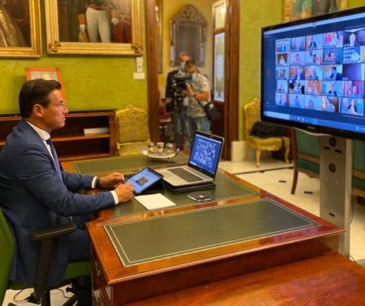 ©Ayto.Granada: El alcalde exige al Gobierno central una inyección de fondos directos para Granada