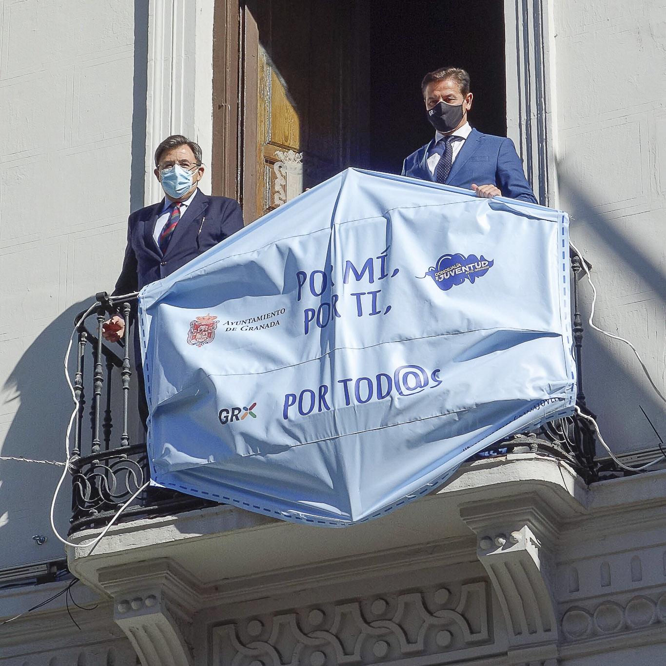 ©Ayto.Granada: El Ayuntamiento lanza la campaña 'Responsables para sensibilizar a la juventud frente al Covid